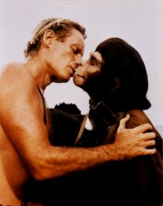 "Jungle Fever or Gorillas in the Kiss?: ""I learned this lil' move eating ticks off my brother's back...."""