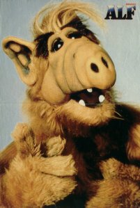 "Promo poster for the unaired ""Alf Teaches the Tanners The Shocker"" episode."