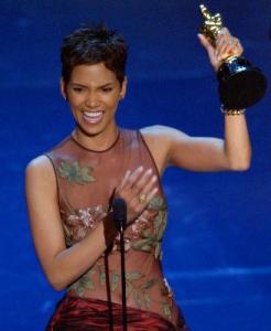 Halle Berry 2002 Oscar Academy Award