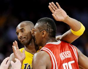 Rockets Lakers Basketball